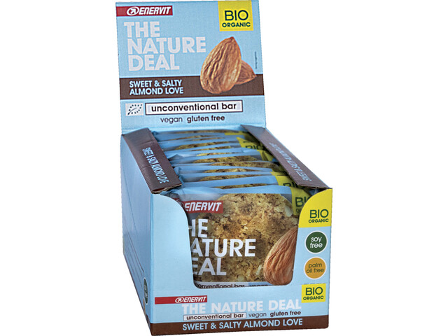 Enervit Nature Deal UncBar Box 12x50g, sweet/salty almond
